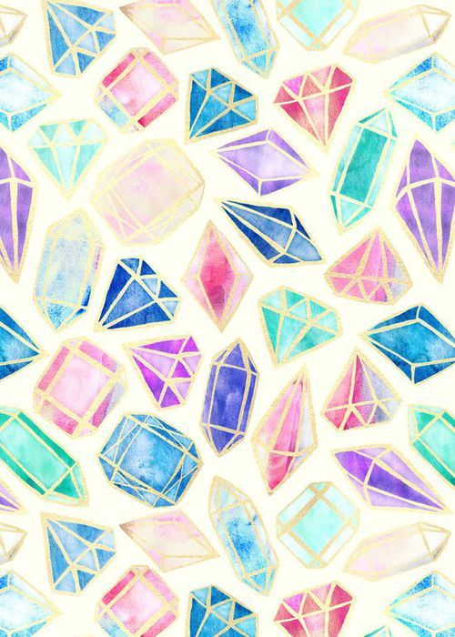 Bright diamond wallpaper