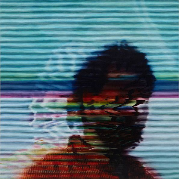 Kon Trubkovich reinvents glitched videos with graphite and oil paints