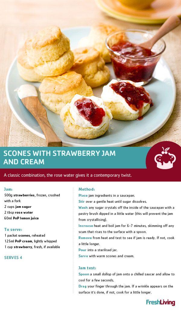 Yay for Wimbledon season! Celebrate with freshly baked #scones. #dailydish #PnP #freshliving
