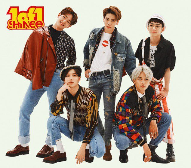 SHINee reveal 90s' style group teaser images for their upcoming comeback | allkpop.com