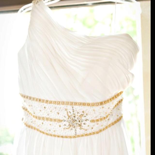Custom Made Wedding Dress Greek Inspired