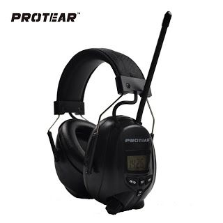 Protear NRR 25dB Electronic Hearing Protector AM FM Radio Earmuffs Electronic Ear Protection For Shooting Electronic Earmuff (32789276725)  SEE MORE  #SuperDeals