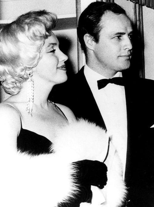 Marlon Brando & Marilyn Monroe