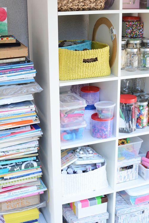 25 unique organize art supplies ideas on pinterest art supplies storage supply room and. Black Bedroom Furniture Sets. Home Design Ideas