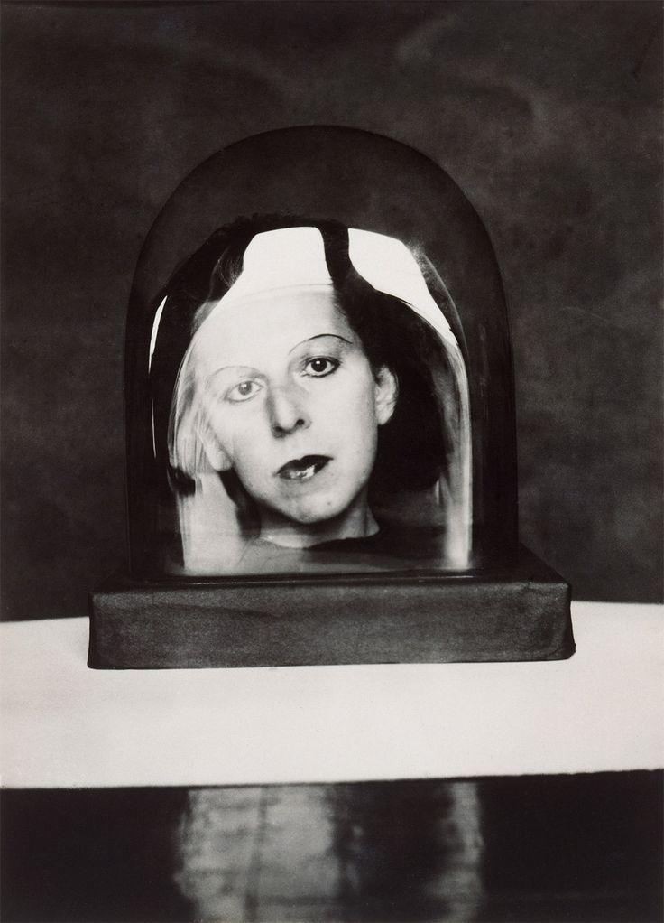 Place Settings with Dinner Guest's Faces Inside Them? Surrealist Party Table :  Autoportrait by Claude Cahun, 1926