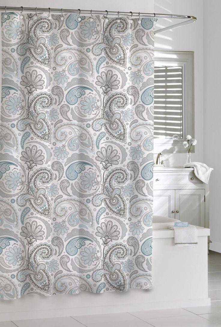Kassatex Cotton Paisley Shower Curtain & Reviews Wayfair