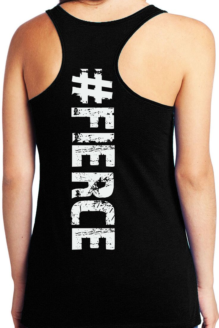 Motivation for Summer! FIERCE #Workout Tank Top by NoBull Woman Apparel. Only $22.99, click here to buy http://nobullwoman-apparel.com/collections/fitness-tanks-workout-shirts/products/fierce-tank-top