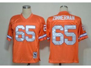 best loved 23e72 1f5d5 ... canada nike nfl elite mitchell and ness broncos 65 gary zimmerman orange  stitched throwback nfl jersey