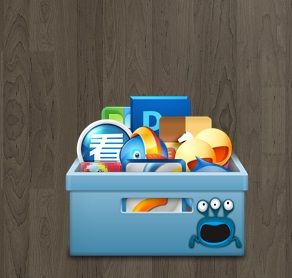 Shortcut Icon Box Widget is a realistic box looking gadget with ful of shortcut icons. Clicking them opens the application. Apart from customizing your Windows PC it is an useful app too.