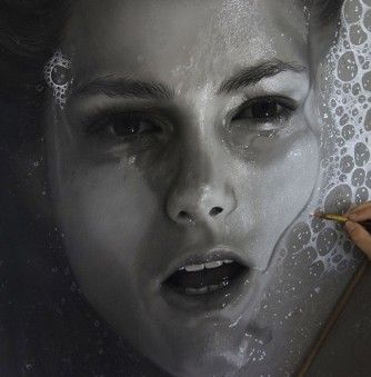 Dirk Dzimirsky's Photorealistic Art Expresses His Concern with Water Torture