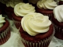 These gluten free red velvet cupcakes are moist and delicious.