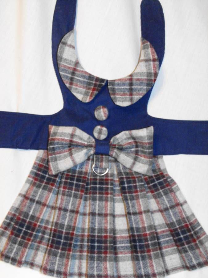 back to school winter dress by dressmeupscottie on Etsy