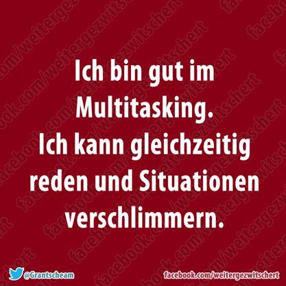 Ohne Worte... das Beste was ich je über Multitasking gehört habe  :D