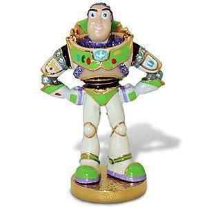 Toy Story Buzz Lightyear Jeweled Figurine by Arribas | Figurines & Keepsakes | Disney Store