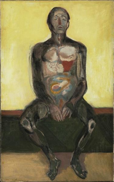 Organic Portrait, 1957  Andrzej Wroblewski