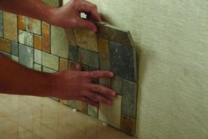 SimpleMat Adhesive Tile Mat 1500 x 1000 - © Custom Building Products