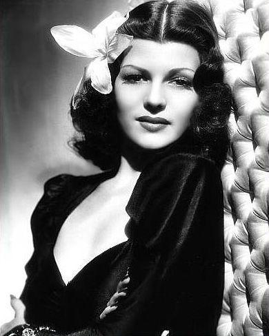 Vintage | Rita Hayworth pre-makeover.