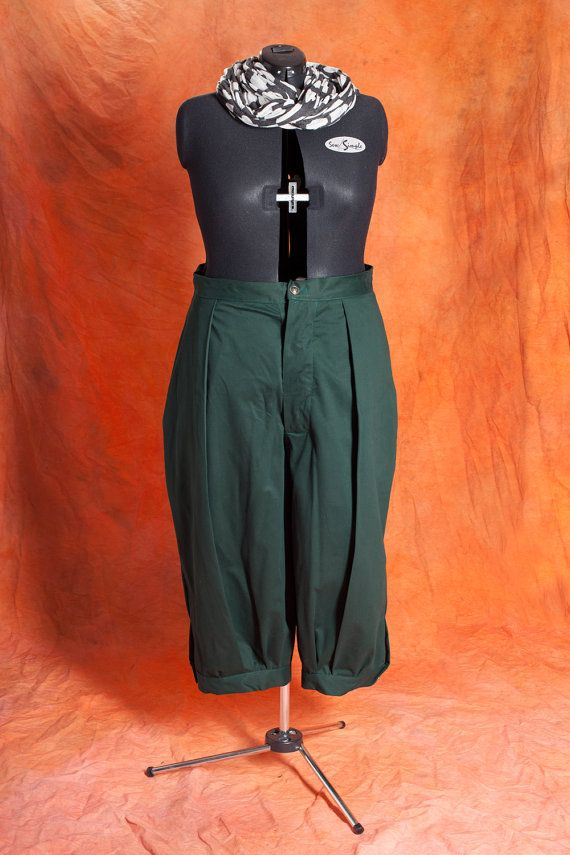 Steampunk - Late Victorian/Edwardian Ladies cycling/steampunk trousers worn about 1900 S-XXL Custom Sized by InnaTiourine