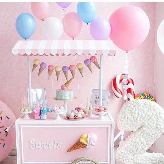Icecreamcake Winter Wonderland Birthday Party Birthday Party Themes 2 Year Old Birthday Party