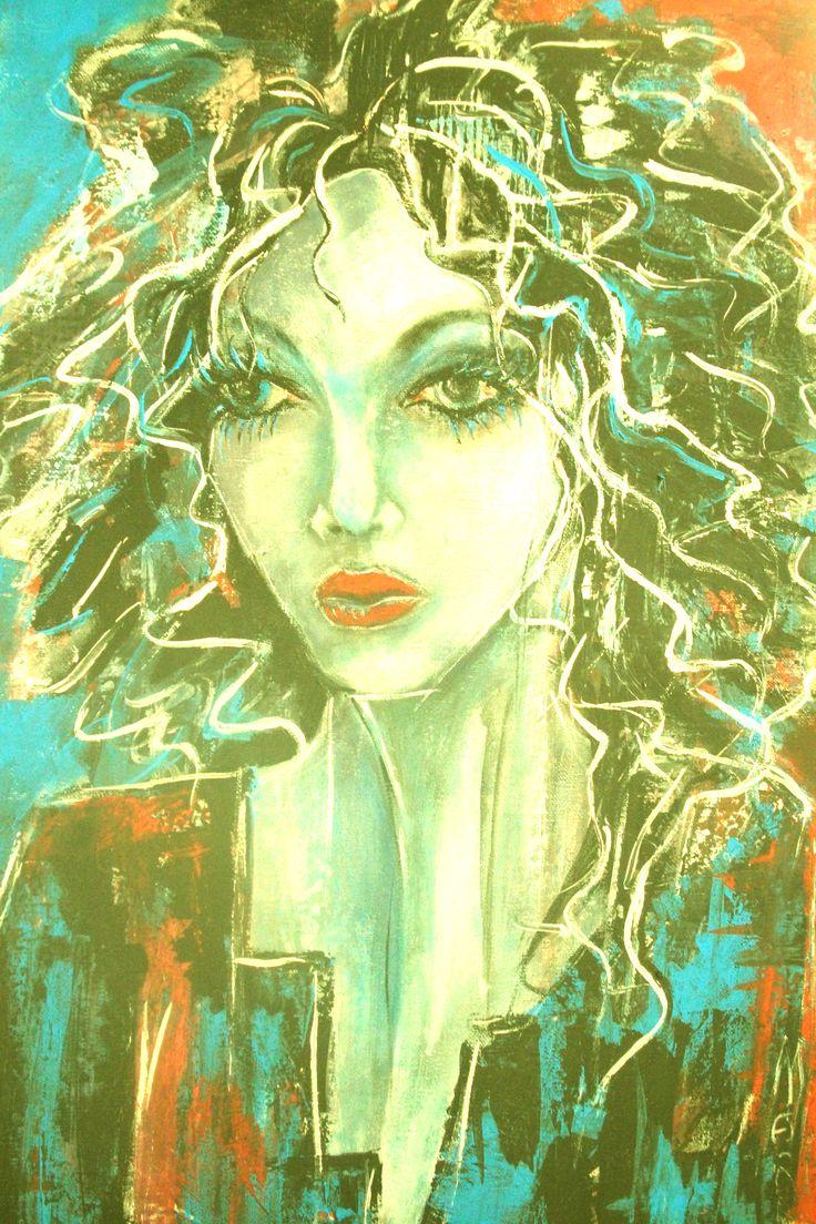 création Marie Poirier ......acrylique   20x24 po....