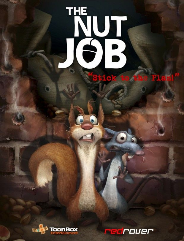 No Nuts No Glory: First Trailer For THE NUT JOB