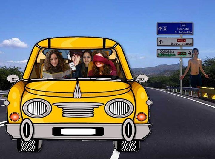 Mi segundo fotomontaje: Nos vamos a Bilbao!