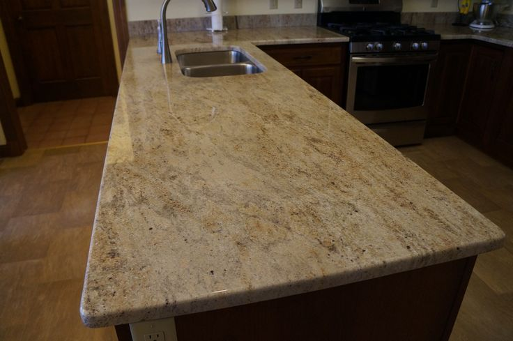 Marble Floors Briwn Kitchen Cabinets
