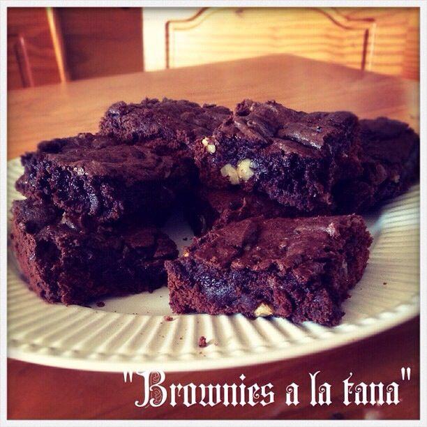 Los mejores brownies de la vida, con un toque de jugo de mandarinas y nueces