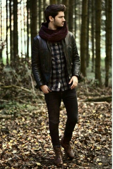 Love love LOVE this bad boy leather meets country bumpkin ... Bad Boy Style Fashion