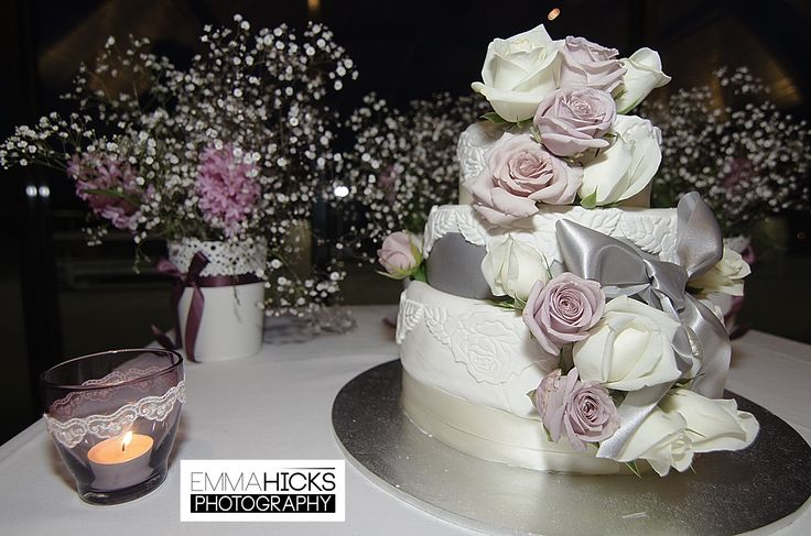 The wedding cake at a wedding I recently had the privilege of shooting.