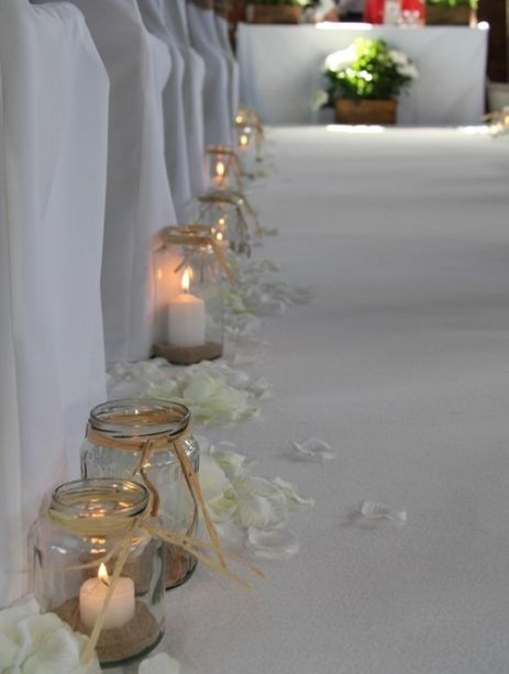 28 Best Images About Wedding Aisle Markers On Pinterest