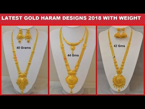 4f6fb7e358 Simple Gold Necklace Designs 2017 With Weight In 10Grams | Latest Jewellery  Designs - YouTube