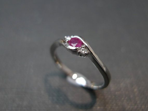 Hey, I found this really awesome Etsy listing at https://www.etsy.com/listing/185297318/classic-ruby-engagement-ring-in-14k