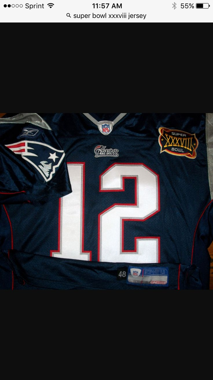 Super Bowl XXXVIII Jersey