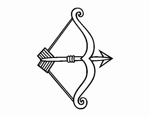 Bow And Arrow Coloring Page Awesome Bow And Arrow Coloring Pages