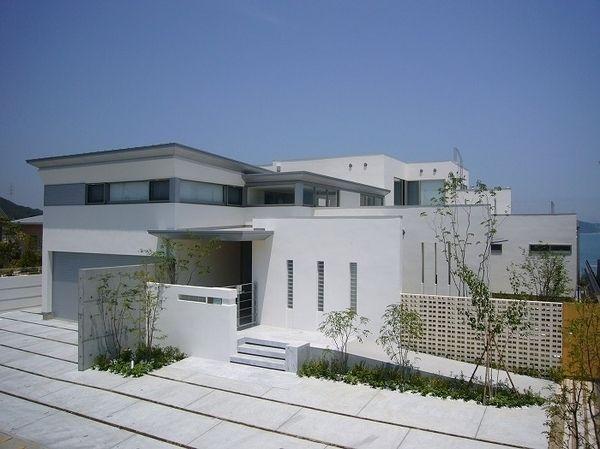 おしゃれな外観 外構 エクステリア実例画像集 家 外観 住宅建築