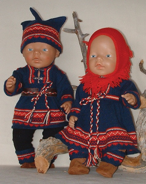 Sami dolls, samisk