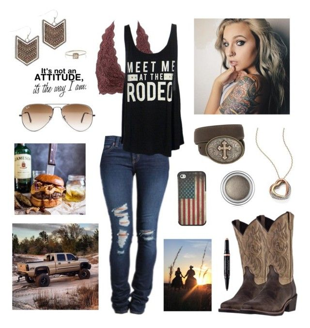 Holy by aw-hell-naw on Polyvore featuring polyvore, fashion, style, Charlotte Russe, Michael Kors, Wrangler, Grace Lee Designs, Ray-Ban, Laredo, Christian Dior, Nocona, J Brand and clothing