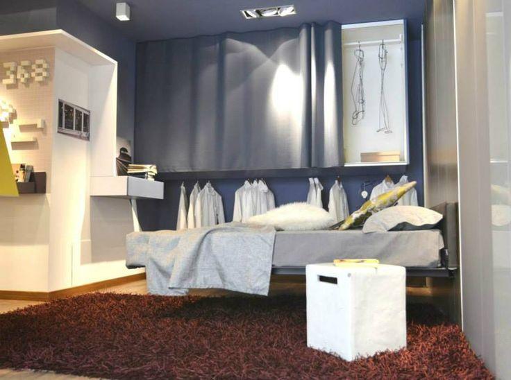 Into the blue | Et Voilà wardrobe @ Lago Store Bergamo. #lagodesign #interiordesign #wardrobe #bedroom