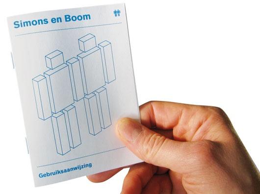 Simons en Boom / Grafisch ontwerpers / Wij