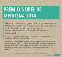 Infographic: PREMIO NOBEL DE MEDICINA 2014 -