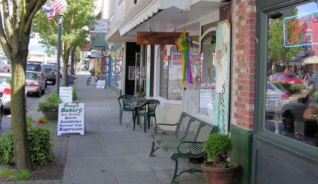 Downtown North Bend, WA