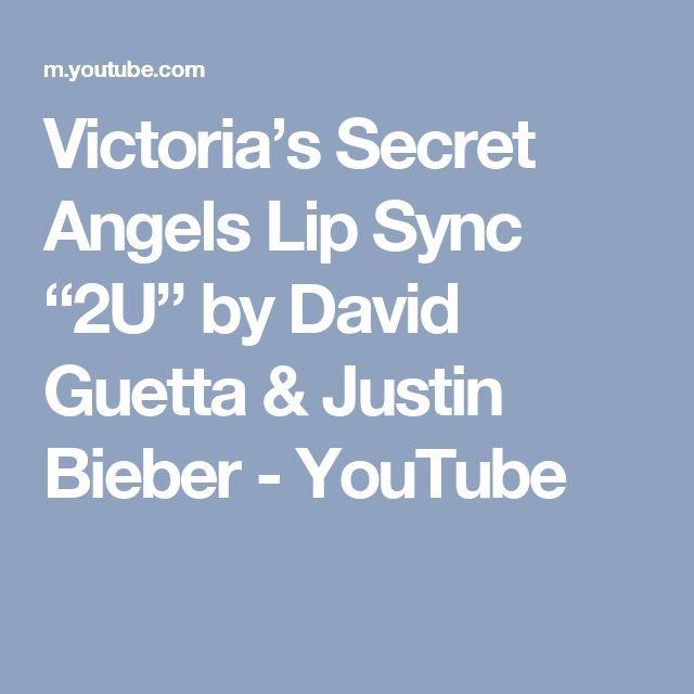 "Victoria's Secret Angels Lip Sync ""2U"" by David Guetta & Justin Bieber - YouTube"