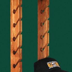 Baseball Hat Rack Plans