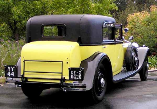 HE YELLOW ROLLS ROYCE FULLY RESTORED FROM THE MOVIE OF THE SAME NAME