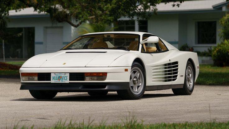 Cel mai celebru Ferrari Testarossa, din filmul Miami Vice, este de vanzare