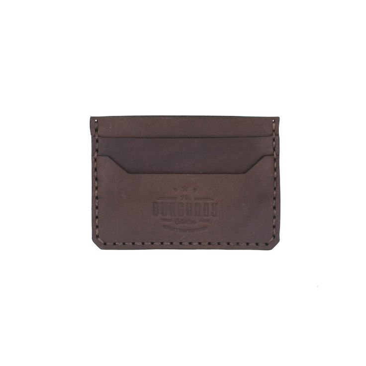 Minimalist Cardholder from Burgundy Collective