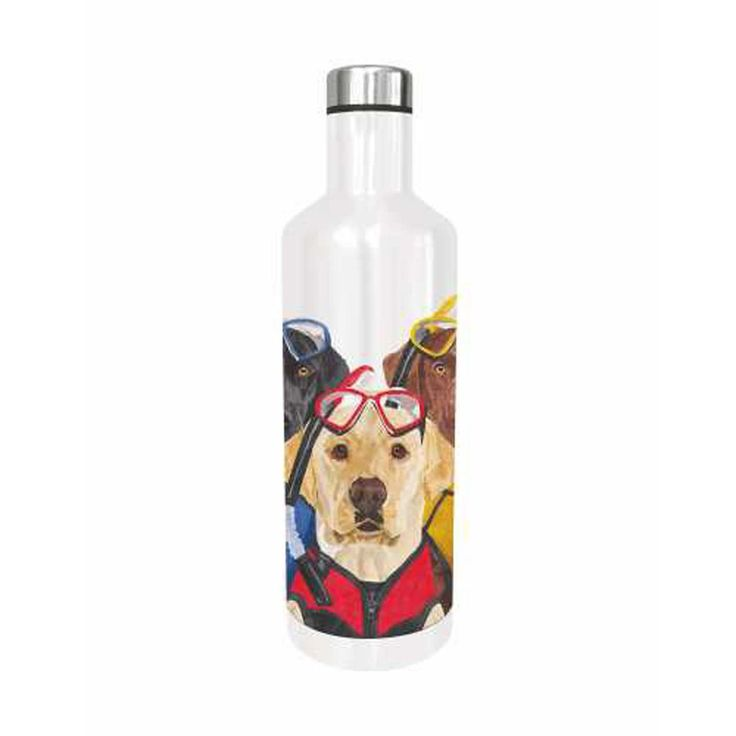 Paperproducts Design The Three Muskateers 16.5 oz Water Bottle Labrador Retrievers