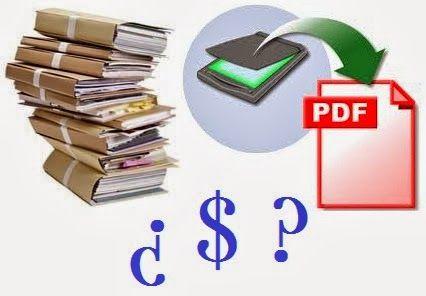 : Gana dinero: Digitalizando documentos | Y dicen que ...