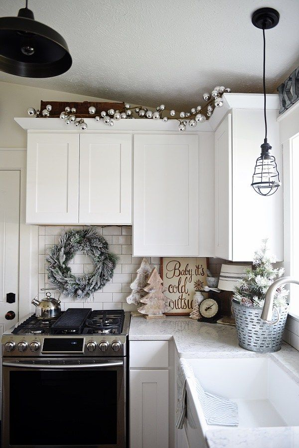 Cozy Cottage Christmas Home Tour - Filled with great cottage Christmas decor!                                                                                                                                                                                 More